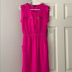 Xoxo pink dress with pockets